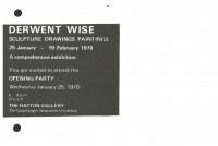 1978 Derwent Wise