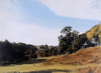 Alnwick Castle   Acrylic   1989  The Hatton Gallery