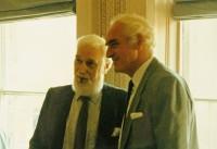 Derwent (left) with eldest brother, architect Douglass Wise OBE