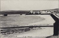 Eyemouth   Charcoal on Paper    1975   Arts Council Collection