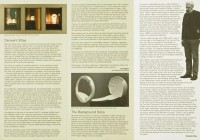 Retrospective Exhibition Programme (inside), The Hatton Gallery - December 2006 to January 2007