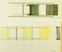 Study for Fugue relief   Pencil   c. 1980